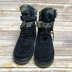 Nike SF AF1 Air Force 1 High Black Olive